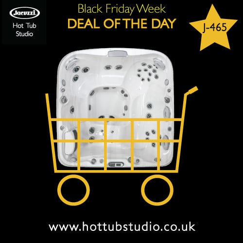 Black Friday Hot Tub Deal of the Day – Saturday