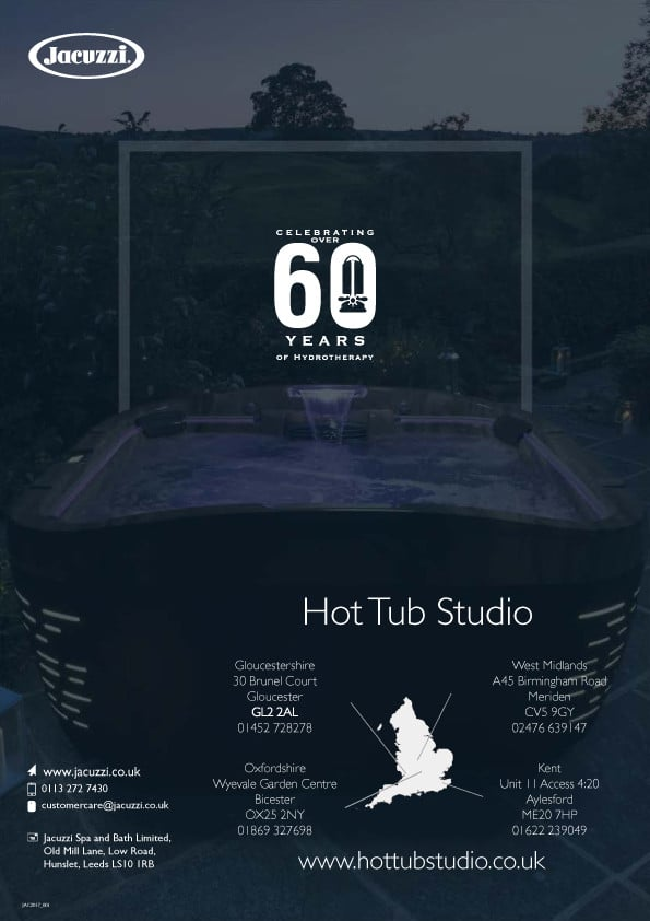 Jacuzzi Hot Tub Price List 2018
