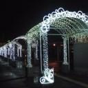 函館駅前広場光のアーチ