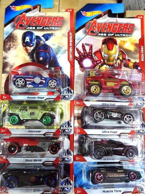 avengers age of ultron hot wheels