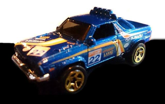 Un premier visuel de la Subaru Brat de la collection Mainline
