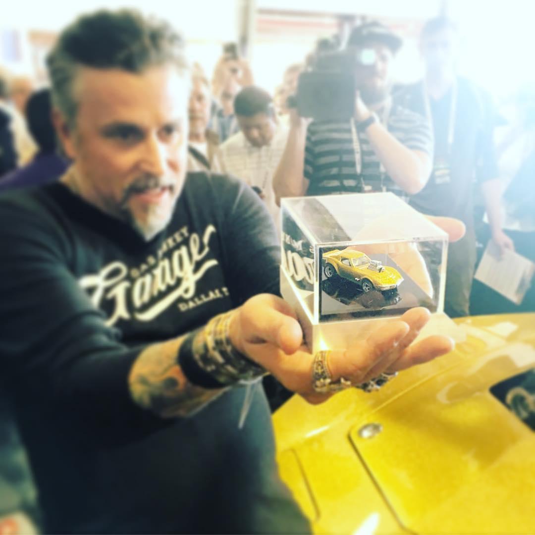 Un premier visuel de la Hot Wheels Midas Monkey Corvette