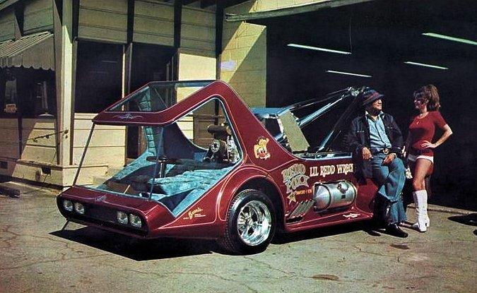 Ça pourrait être une Hot Wheels n°2: Le Lil' Redd Wrecker de George Barris