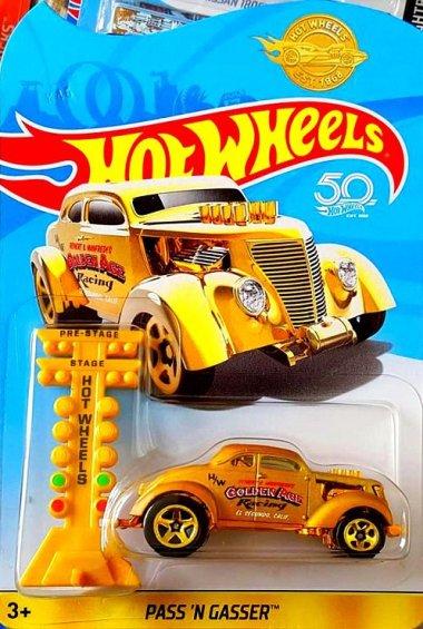 Une édition spéciale du Pass'N'Gasser pour les 50 ans d'Hot Wheels