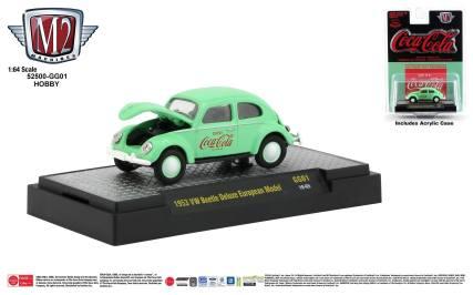 M2-Machines-Coca-Cola-Series-1953-VW-Beetle-Deluxe-European-Model-Hobby