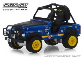 GreenLight-Collectibles-All-Terrain-Series-8-1971-Jeep-CJ-5-44-Baja-Cragar