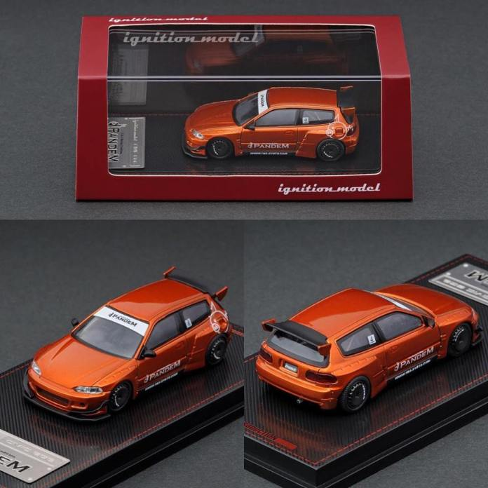 Tarmac-Works-Honda-Civic-EG6-Pandem-orange