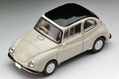 Tomica-Limited-Vintage-Neo-Subaru-360-Convertible-1960-Toit-ferme-1