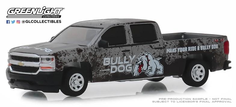 GreenLight-Collectibles-Bully-Dog-series-2018-Chevrolet-Silverado-Bully-Dog-Make-Your-Ride-a-Bully-Dog