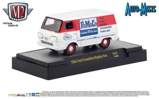 M2-Machines-Auto-Meet-49-1965-Ford-Econoline-Display-Van