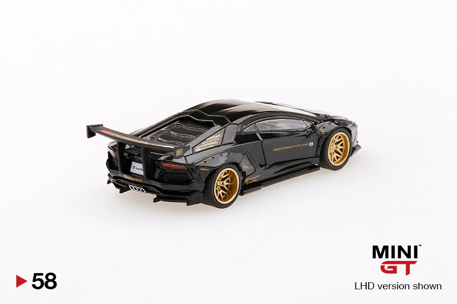 Mini-GT-Lamborghini-Black-Aventador-Liberty-Walk-002