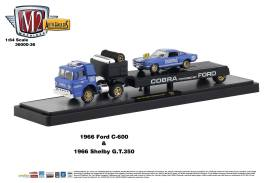 M2-Machines-Auto-Haulers-Series-36-1966-Ford-C-600-1966-Shelby-GT-350-Cobra