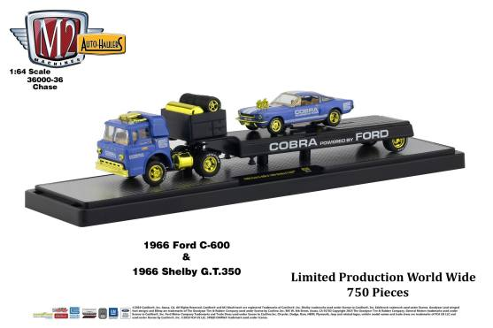 M2-Machines-Auto-Haulers-Series-36-1966-Ford-C-600-Cobra-1966-Shelby-GT-350-Cobra-Chase