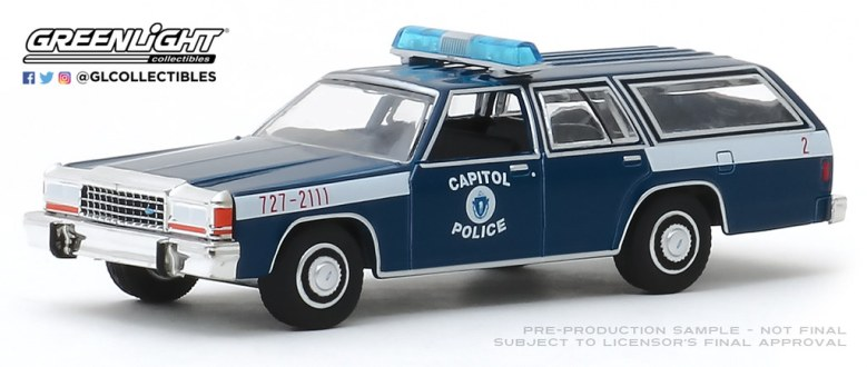 GreenLight-Collectibles-Hot-Pursuit-33-1983-Ford-LTD-Station-Wagon-US-Capitol-Police