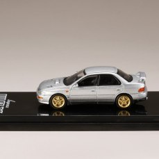 Hobby-Japan-Minicar-Project-Subaru-Impreza-GC8C-Series-Subaru-Impreza-WRX-GC8-STi-Version-II-Light-Silver-Metallic-003