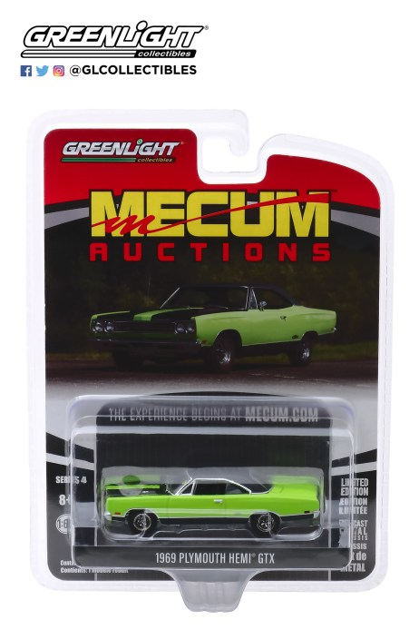 GreenLight-Collectibles-Mecum-Auctions-Series-4-1969-Plymouth-HEMI-GTX