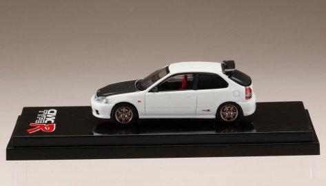 Hobby-Japan-Honda-Civic-Type-R-EK9-Custom-Version-Carbon-Bonnet-Championship-White-003