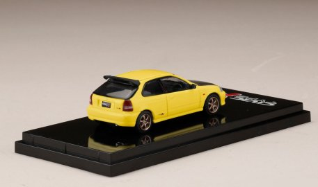 Hobby-Japan-Honda-Civic-Type-R-EK9-Custom-Version-Carbon-Bonnet-Sunlight-Yellow-002