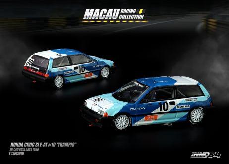 Inno-64-Macau-Grand-Prix-2019-Special-Honda-Civic-Si-E-AT-10-Trampio-Macau-Guia-Race-1986-T-Tsutsumi