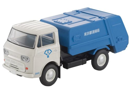 Tomica-Limited-Vintage-Neo-Mazda-E2000-cleaning-truck-Blanc-bleu-001