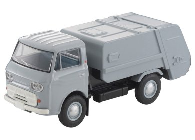Tomica-Limited-Vintage-Neo-Mazda-E2000-cleaning-truck-Gris-001