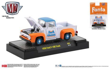 M2-Machines-Fanta-Series-1956-Ford-F-100-Truck