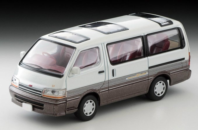 Tomica-Limited-Vintage-Neo-Toyota-Hiace-Super-Custom-Limited-blanc-marron-003