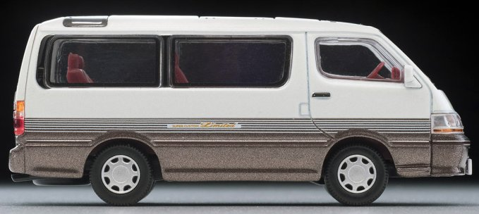 Tomica-Limited-Vintage-Neo-Toyota-Hiace-Super-Custom-Limited-blanc-marron-004