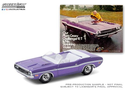 GreenLight-Collectibles-Vintage-Ad-Cars-3-1970-Dodge-Challenger-RT-Convertible