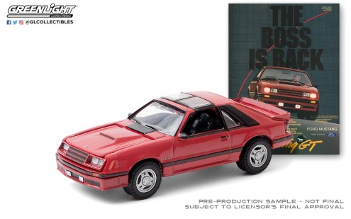 GreenLight-Collectibles-Vintage-Ad-Cars-3-1982-Ford-Mustang-GT