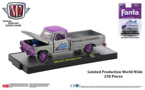 M2-Machines-Coca-Cola-release-1969-Ford-F-100-Ranger-Truck-Fanta-Super-Chase-Truck