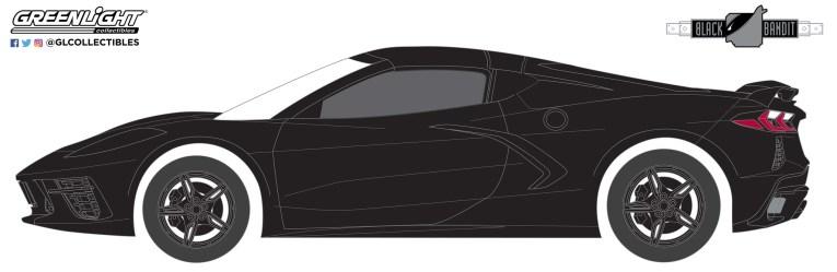 GreenLight-Collectibles-Black-Bandit-24-2020-Chevrolet-Corvette-C8-Stingray