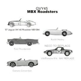 Matchbox-new-2021-5-Packs-MBX-Roadsters