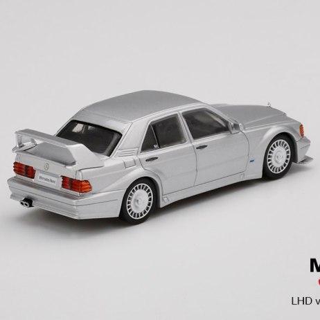 Mini-GT-Mercedes-Benz-190E-2-5-16-Evolution-II-Silver-002