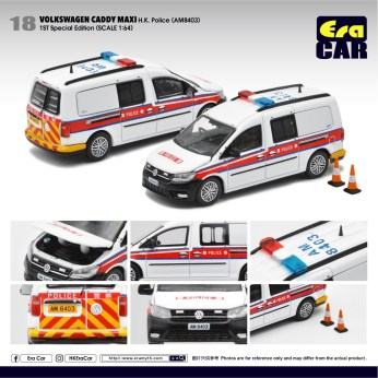 Era-Car-Volkswagen-Caddy-Maxi-HK-Police-1st-Special-Edition-AM-8403