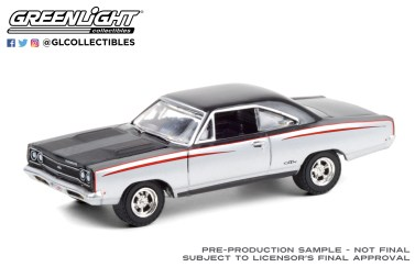 GreenLight-Collectibles-Barrett-Jackson-Series-6-1968-Plymouth-GTX-Custom
