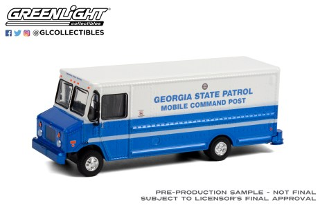 GreenLight-Collectibles-HD-Trucks-20-2019-Step-Van-Georgia-State-Patrol-Mobile-Command-Unit