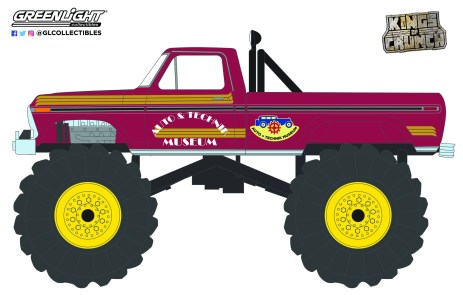 GreenLight-Collectibles-Kings-of-Crunch-9-Super-Monster-1979-Ford-F-250-Monster-Truck