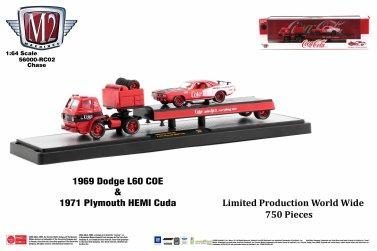 M2-Machines-Coca-Cola-1969-Dodge-L600-1971-Plymouth-Cuda-Chase