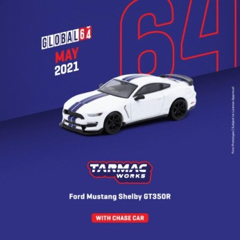 Tarmac-Works-Mai-2021-Ford-Mustang-Shelby-GT350R-White-Metallic