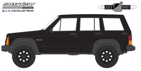 GreenLight-Collectibles-Black-Bandit-Series-25-1990-Jeep-Cherokee