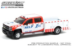 GreenLight-Collectibles-Dually-Drivers-7-2018-Chevrolet-Silverado-3500-Dually-Service-Bed