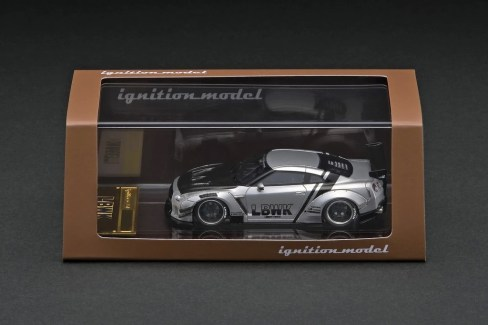Ignition-Model-Resin-LB-Works-Nissan-GT-R-R35-type-2-silver-003