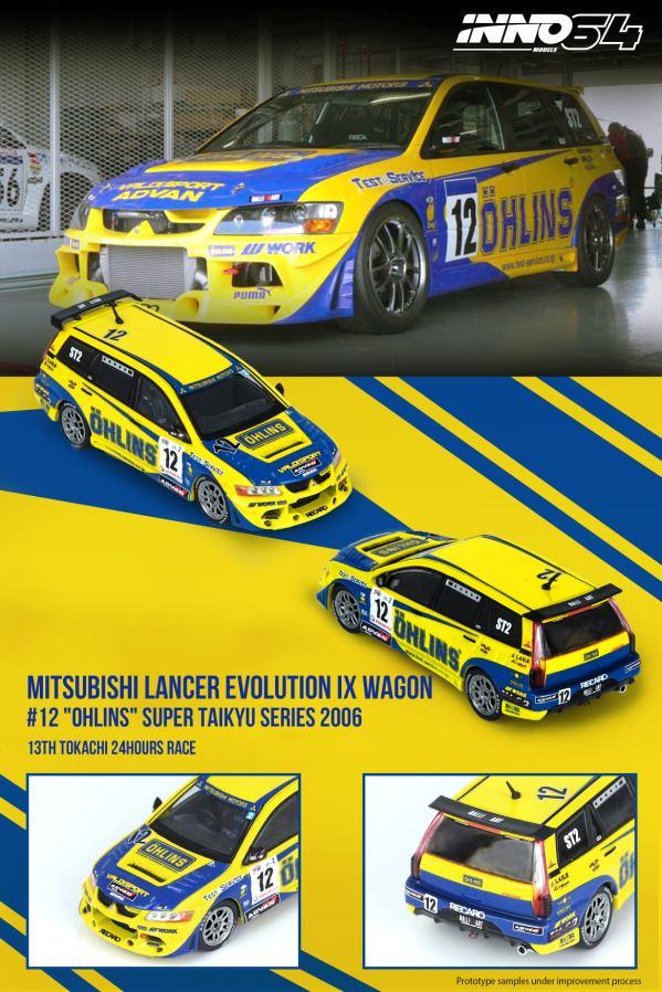 Inno64-Mitsubishi-Lancer-Evolution-IX-Wagon-12-Ohlins-Super-Taikyu-Series-2006-001