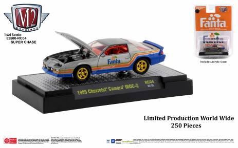 M2-Machines-Coca-Cola-Series-1985-Chevrolet-Camaro-Iroc-Z-Fanta-Super-Chase