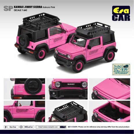 EraCar-Suzuki-Jimny-Sierra-Kawaii-Sakura-Pink
