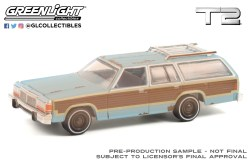 GreenLight-Collectibles-Hollywood-Series-32-1979-Ford-LTD-Country-Squire-Terminator-2-Judgment-Day