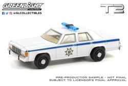 GreenLight-Collectibles-Hollywood-Series-32-1983-Ford-LTD-Crown-Victoria-Police-Terminator-2-Judgment-Day