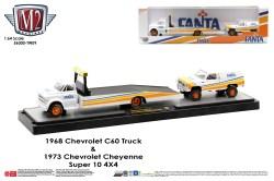 M2-Machines-Coca-Cola-Auto-Haulers-release-Fanta-Chevrolet-C-60-Truck-Chevrolet-Super-10-4x4