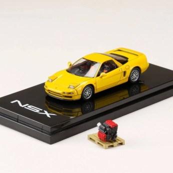 Hobby-Japan-Minicar-Project-Honda-NSX-NA1-yellow